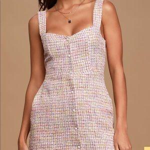 Lulus Tweed Mini Dress